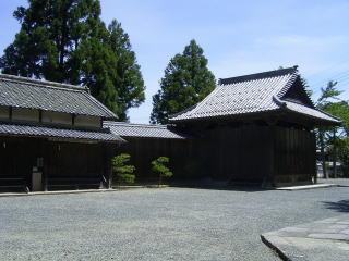 篠山春日神社能楽殿